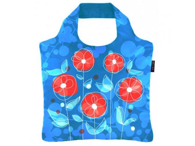 ECOZZ nákupní taška Happy Poppy