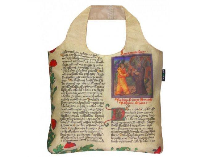 ECOZZ skládací nákupní taška Rare Prints 2