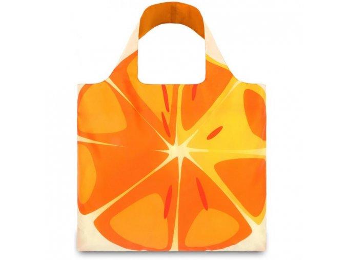 LOQI - skládací nákupní taška Orange