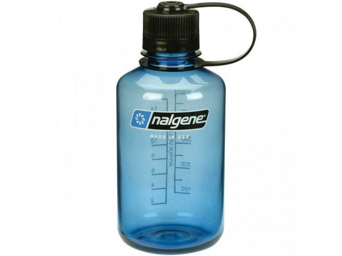 NALGENE - láhev na pití Narrow Mouth 500 ml Blue