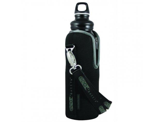 ECO Bottle neoprenový termoobal na lahev 1000 ml černý