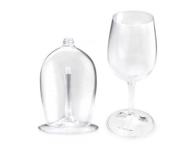 GSI Outdoors sklenička na bílé víno Nesting Wine Glass