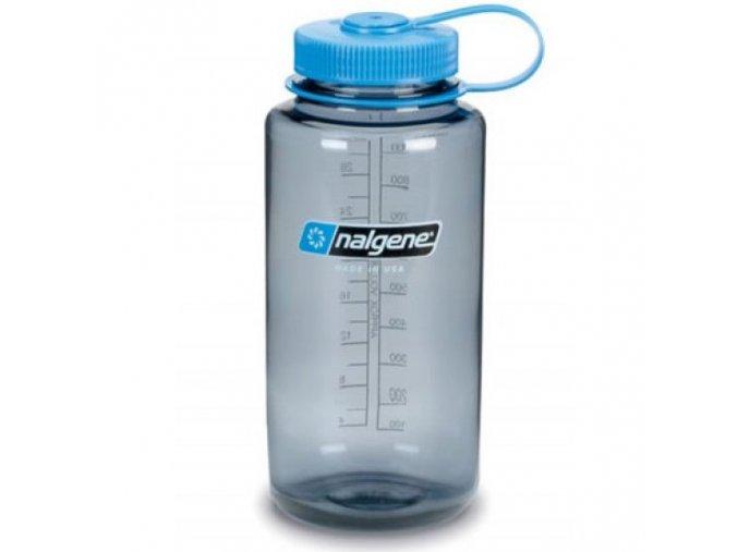 NALGENE - láhev na pití Wide Mouth 1000 ml Grey
