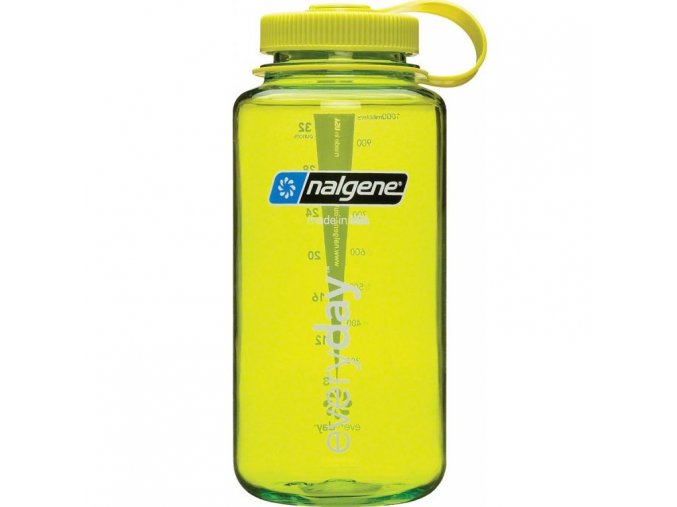 NALGENE - láhev na pití Wide Mouth 1000 ml Spring Green