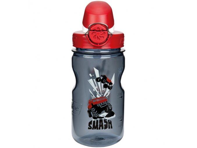 NALGENE - dětská láhev On The Fly 375 ml Gray Smash
