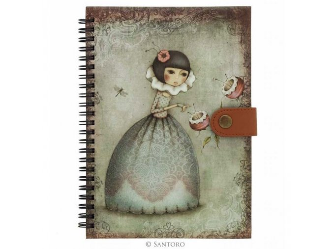 SANTORO - zápisník Mirabelle Curiosity