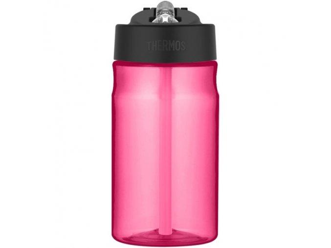 Thermos - dětská láhev s brčkem 350 ml růžová