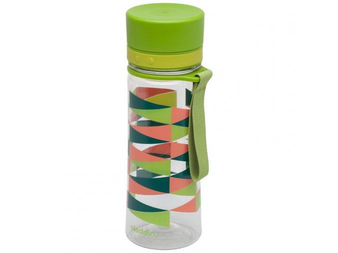 Aladdin - láhev na vodu Aveo 350 ml zelená s potiskem