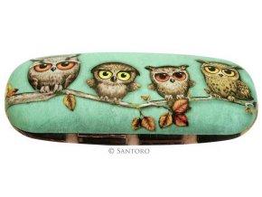 Santoro - pouzdro na brýle Book Owls