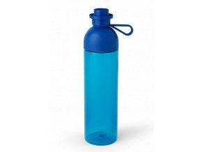 LEGO láhev na pití transparentní 740 ml modrá