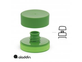 Aladdin - láhev na vodu Aveo 600 ml zelená