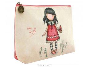 SANTORO - kosmetická taška TIME TO FLY