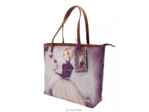SANTORO taška Shopper Bag AMETHYST BUTTERFLY