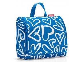 Reisenthel - toaletní taška Toiletbag XL funky hearts