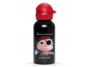 Label Tour lahev na vodu Pirát