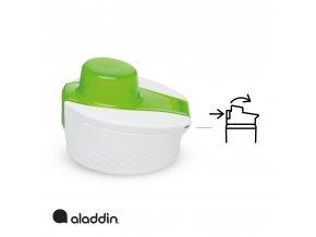 Aladdin - sportovní vakuová láhev na vodu 600ml zelená