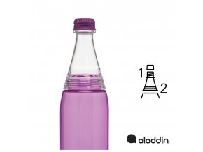 Aladdin - láhev Fresco Twist&Go 700 ml fialová