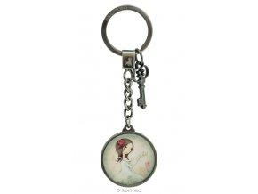 SANTORO - přívěšek na klíče ALL FOR LOVE