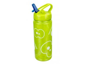 FRUITFRIENDS hydratační lahev na vodu limetková s brčkem 500 ml