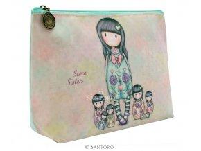 SANTORO - kosmetická taška SEVEN SISTERS