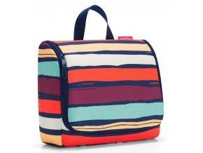 Reisenthel - toaletní taška Toiletbag XL artist stripes