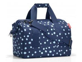 Cestovní taška Reisenthel Allrounder M spots navy 1
