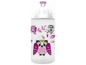 FreeWater láhev na pitípro děti s motivem sovy