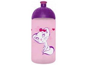 FreeWater láhev na pití pro holky s motivem kočky