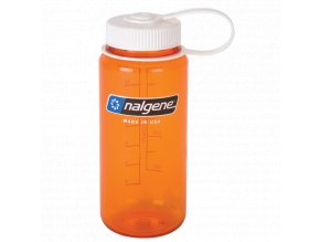 NALGENE - láhev na pití Wide Mouth 500 ml Orange