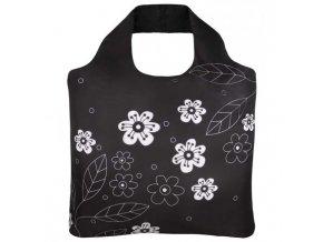 ECOZZ nákupní taška Black and White 2
