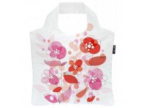 ECOZZ nákupní taška Happy Roses