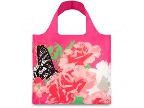 LOQI - skládací nákupní taška Carnation