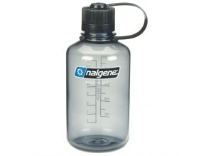 NALGENE - láhev na pití Narrow Mouth 500 ml Grey