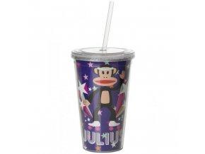Paul Frank hrnek s brčkem Pop fialový