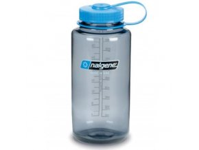 NALGENE - láhev na pití Wide Mouth 1000 ml Grey