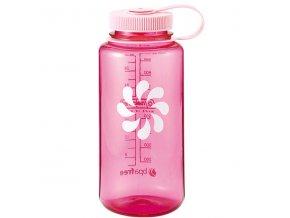 NALGENE - láhev na pití Wide Mouth 1000 ml Pink