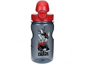 NALGENE - dětská láhev On The Fly 375 ml Gray Smash