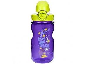 NALGENE - dětská láhev On The Fly 375 ml Purple Hoot