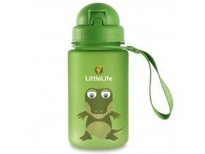 LittleLife lahev pro děti Animal Bottle 400 ml - krokodýl