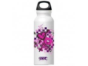 ECO Bottle lahev Kiss in Pink 650 ml