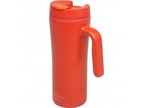 Aladdin - termohrnek s uchem Recycled & Recyclable Flip-Seal 350 ml červený