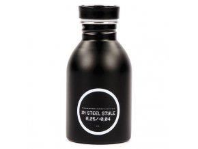 24Bottles - nerezový zásobník na ocet, olej Oil Bottle černý 1