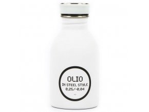 24Bottles - nerezový zásobník na olej Oil Bottle bílý 1