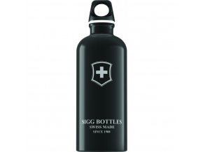 Lahev SIGG Swiss Emblem Black 600 ml