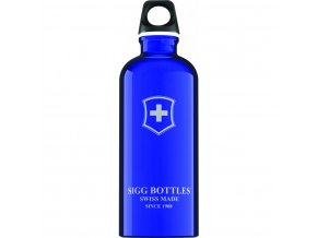 Lahev SIGG Swiss Emblem Dark Blue 600 ml