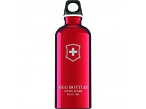 Lahev SIGG Swiss Emblem Red 600 ml