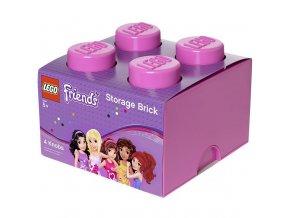 LEGO Friends úložný box růžový