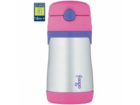 Thermos - kojenecká termoláhev FOOGO růžová