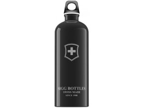 Lahev SIGG Swiss Emblem Black 1000 ml