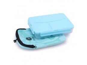 Pret a Paquet obědový box s termoobalem světle modrý